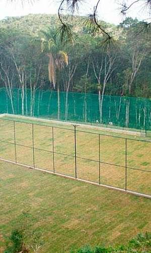 Alambrado para campo de futebol