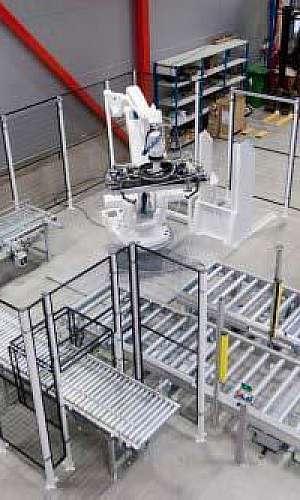 Cercado de segurança para máquinas