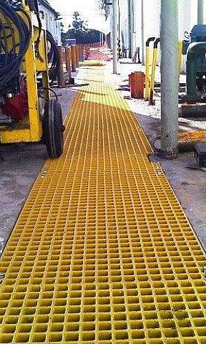 Fabricante de grades de piso