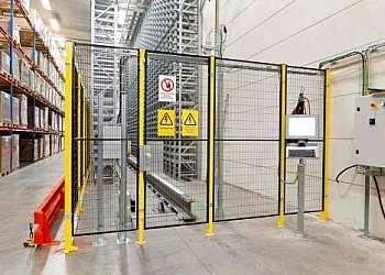 Distribuidor grade de proteção para máquinas
