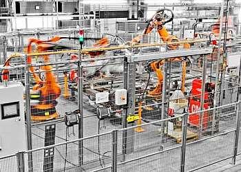 Grade de segurança industrial
