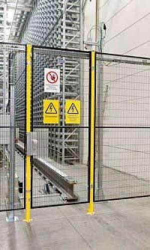 Grade de segurança para máquinas