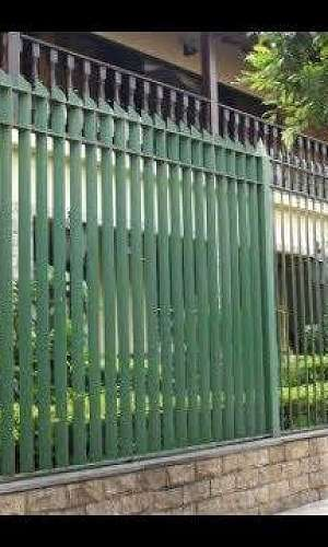 Grades de ferro para muro