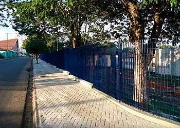 Gradil de ferro perfilado tipo parque