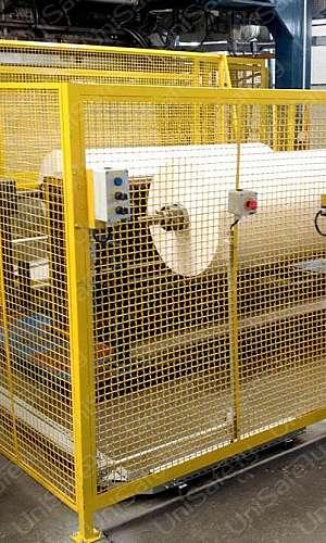 Proteção de maquinas e equipamentos