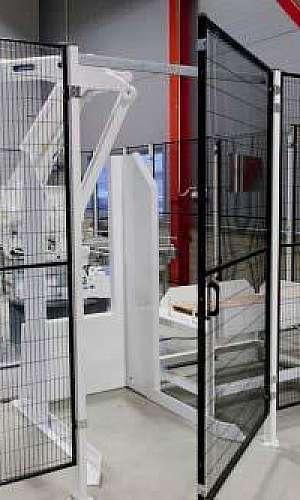 Telas de proteção para máquinas industriais